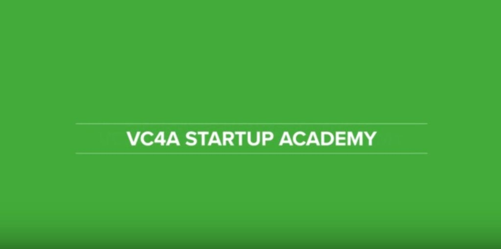 VC4A STARTUP ACADEMY