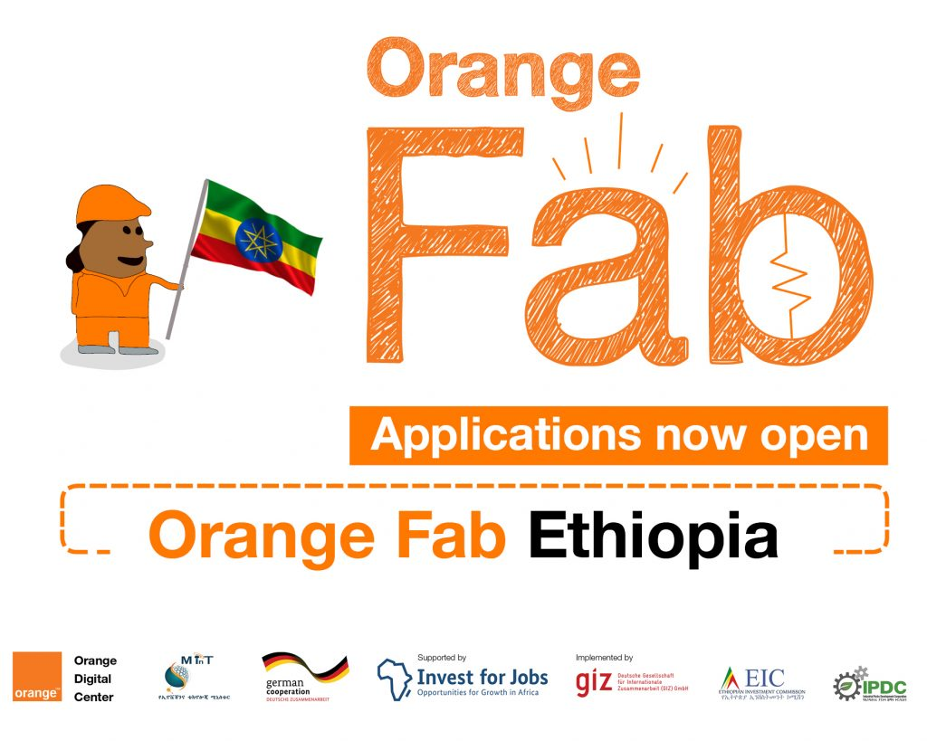 Application for Orange Fab Ethiopia Acceleration Program is Open